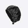 Nuit de Soie - Bonnet Noir en Pure Soie 19 mommes - Akisha - Liquorice