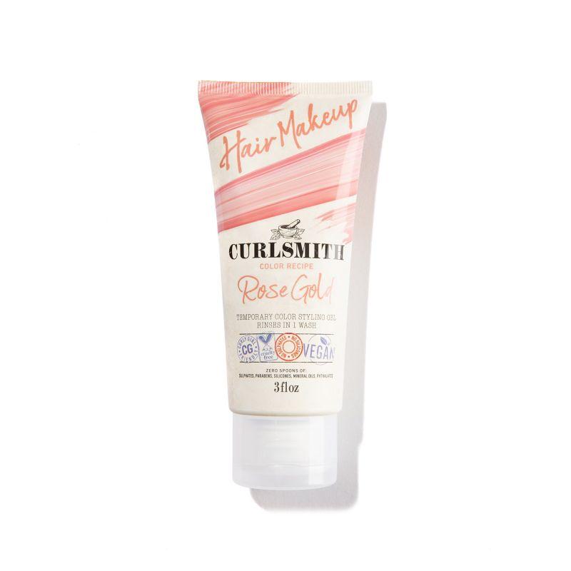 CurlSmith - Hair Makeup - Rose Gold