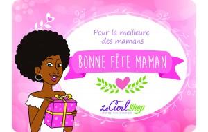 Carte Cadeau Fête des Mères - La meilleure des Mamans - Crépue.